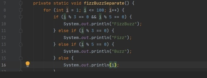FizzBuzz Solution